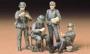 Немецкие солдаты на обеде (4 фиг.) в форме М36