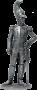 Полковник Лейб-гвардии Драгунского полка. Россия, 1810-15 гг