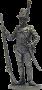 Рядовой пехотного полка Адлеркройца. Швеция, 1809 г