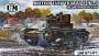 Vickers E Mk.A British tank (made for Poland), plastic tracks